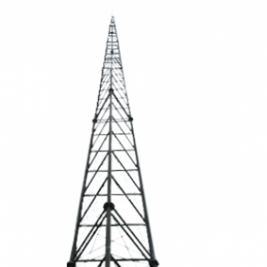 Self-supporting lattice mast