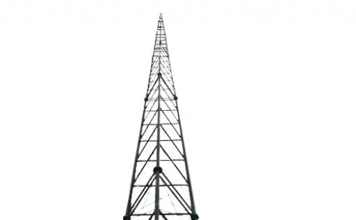 Self-supporting lattice mast